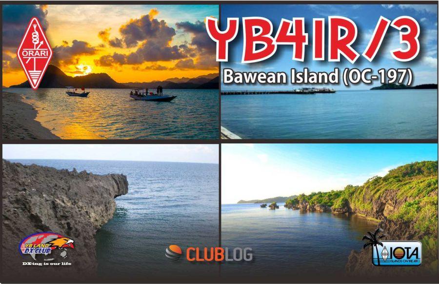 Bawean Island YB4IR/3 QSL