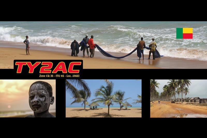 Benin TY2AC QSL