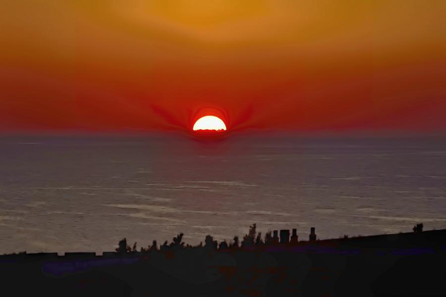 Bermuda Islands VA3QSL/VP9 DX News Sunset.