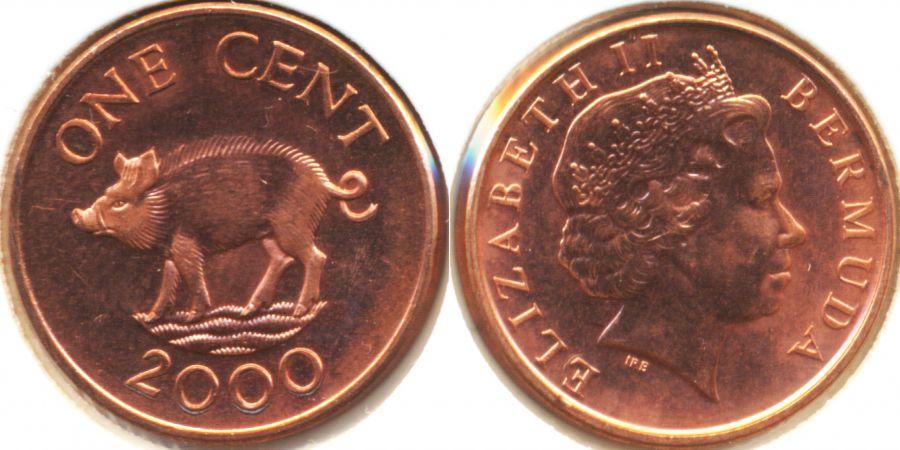 Бермудские острова KU9C/VP9 Монеты