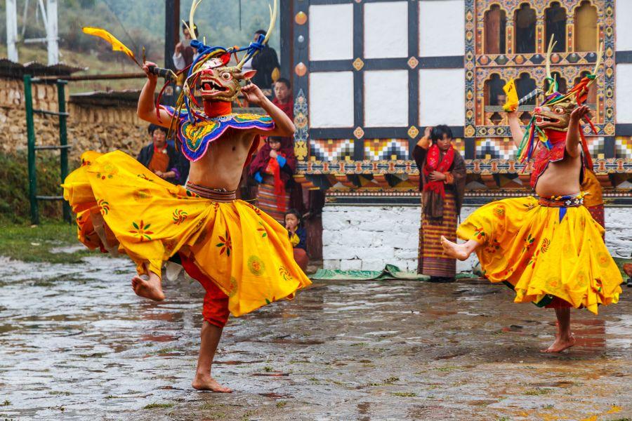Bhutan A52CVX Tourist attractions spot