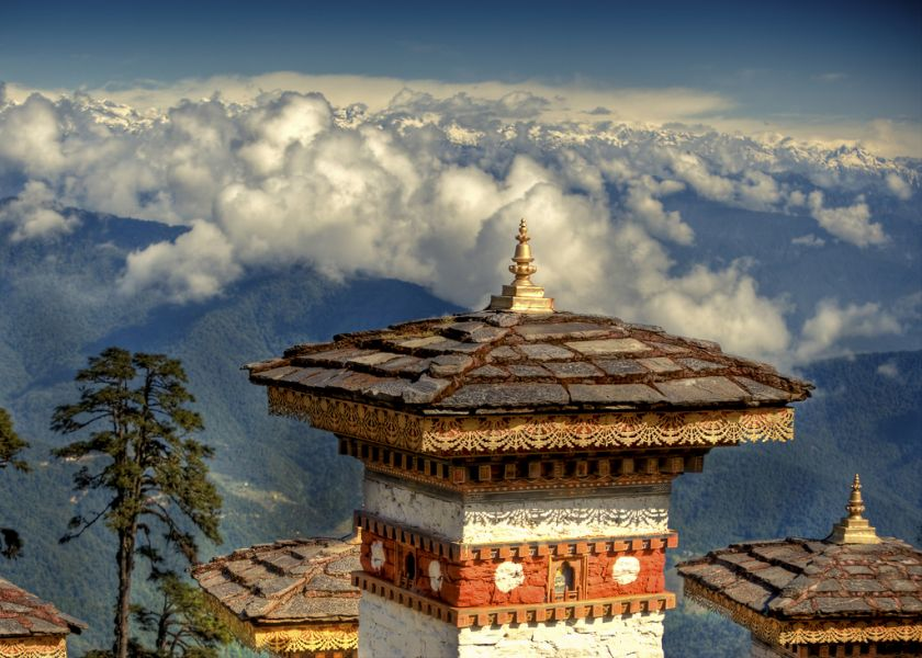 Bhutan A52O Tourist attractions
