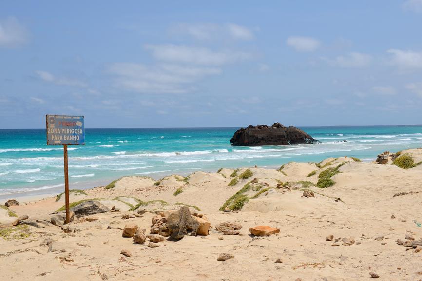 Boa Vista Island Cabo Verde D44KS Cape Verde