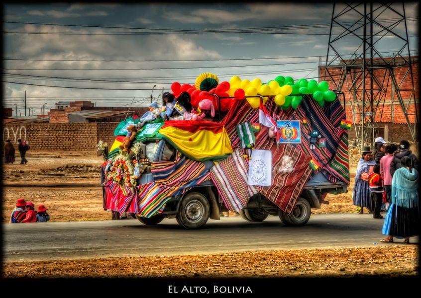 Bolivia CP6XGR El Alto.