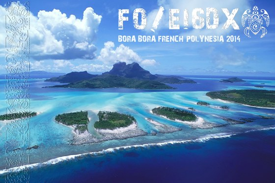 Бора Бора FO/EI6DX QSL