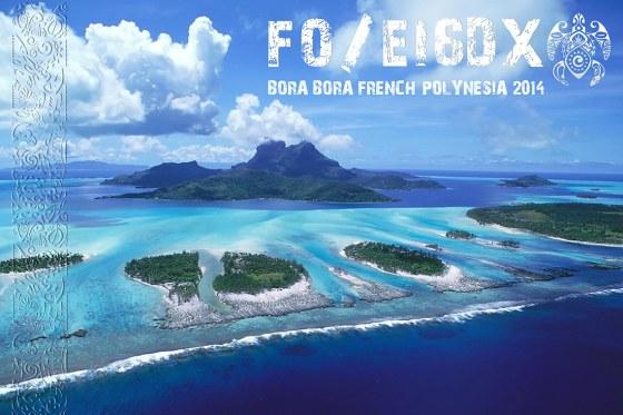 ���� ���� FO/EI6DX QSL