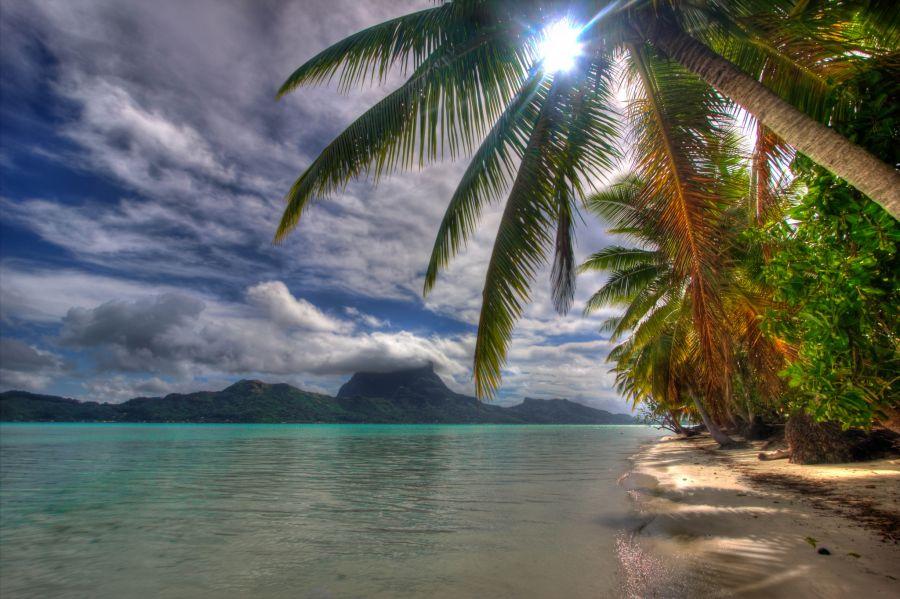Остров Бора Бора FO/WV6E FO/AI4VU Туристические достопримечательности