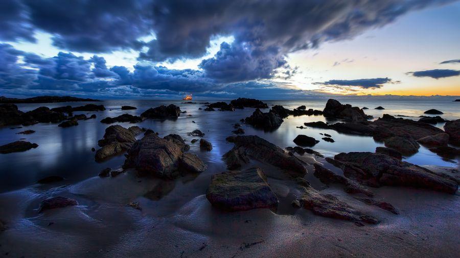 Bornholm Island OZ0BO Sunrise.