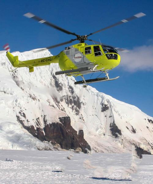 Bouvet Island 3Y0Z Helicopter