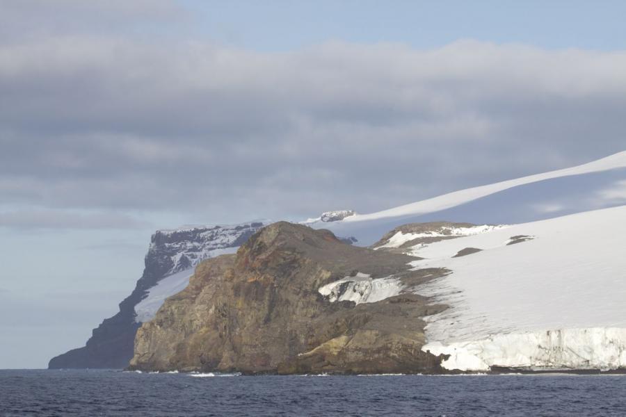 Bouvet Island 3Z9DX Langing spot