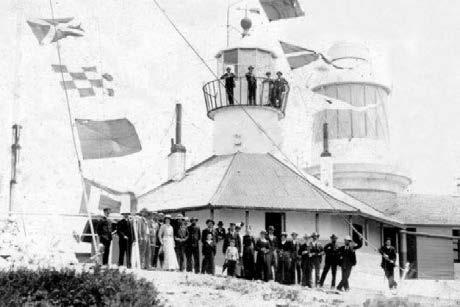 Breaksea Island Lighthouse