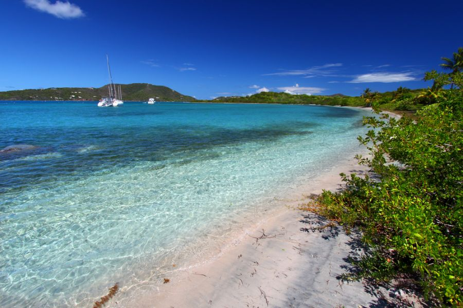 British Virgin Islands VP2V/N3DXX Tourist attractions spot