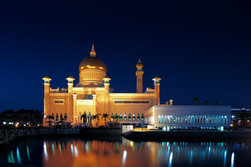 Бруней V85QQ Туристические достопримечательности