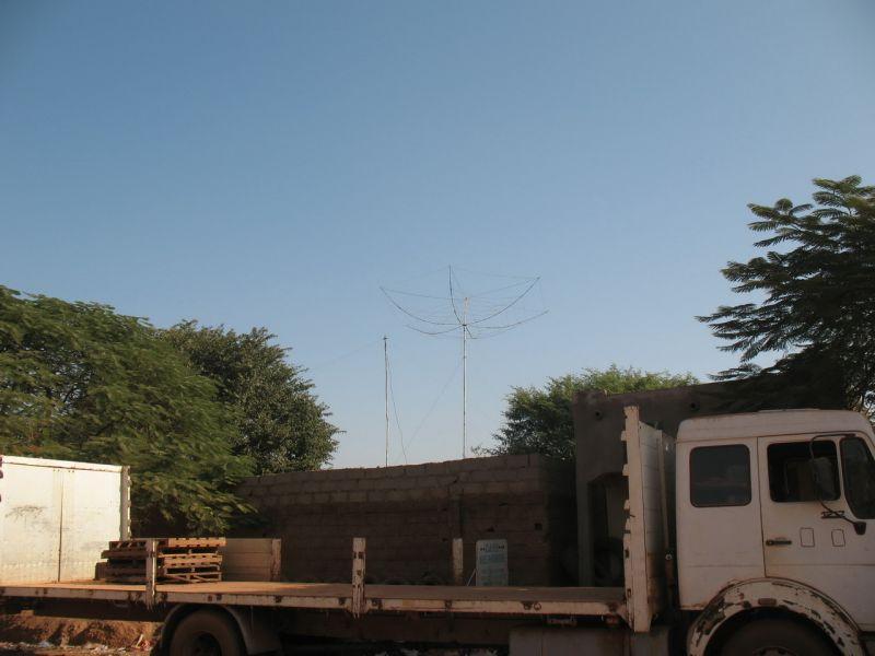 Burkina Faso XT2AW Antennas