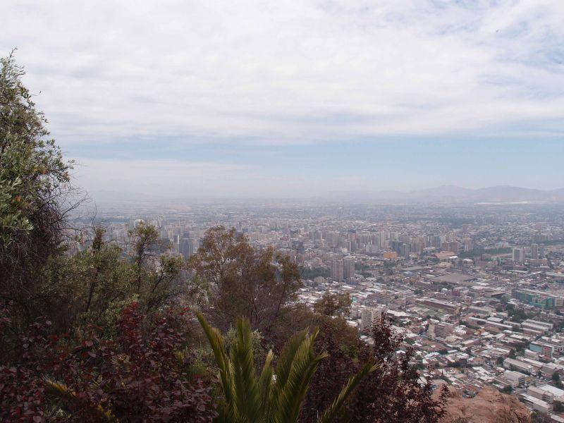 Сантьяго Чили Сан Кристобаль