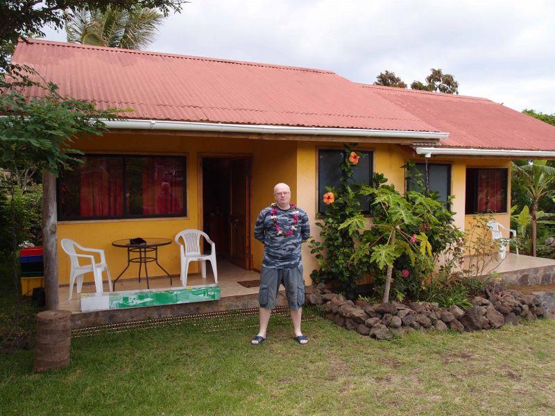 Остров Пасхи Наш домик - кабинка