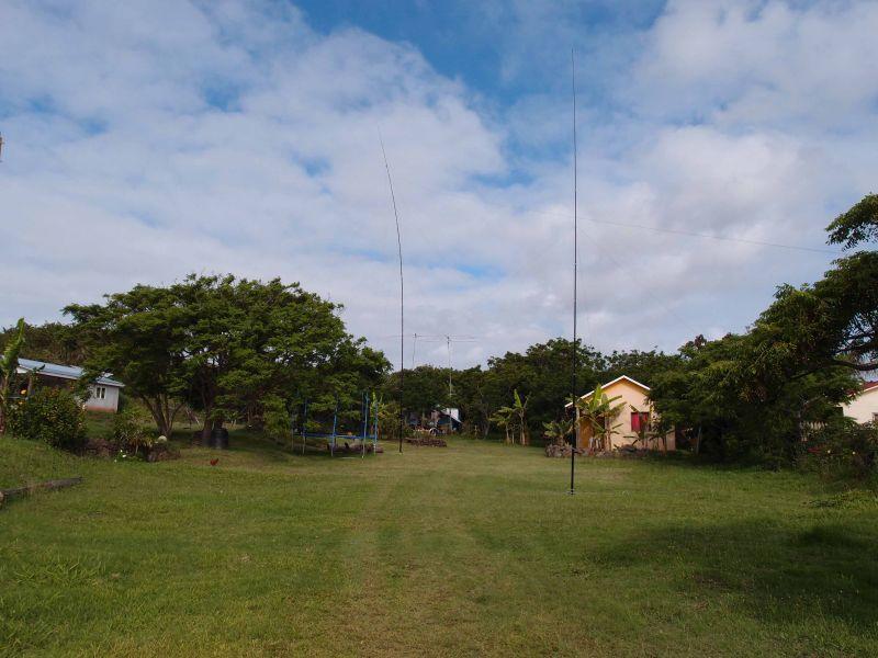 Остров Пасхи Вертикалы установлены