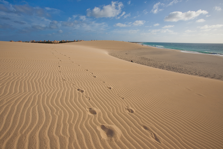 Cabo Verde D44TBR/QRP Cape Verde Boa Vista Island Tourist attractions