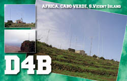 Cabo Verde D4B QSL