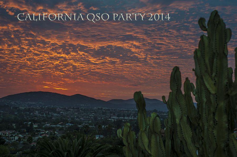 California QSO Party California Sunset