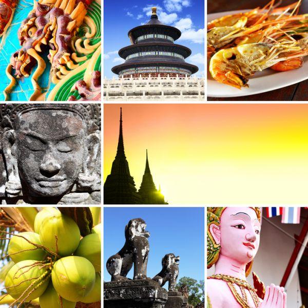 Cambodia XU7AEZ Tourist attractions