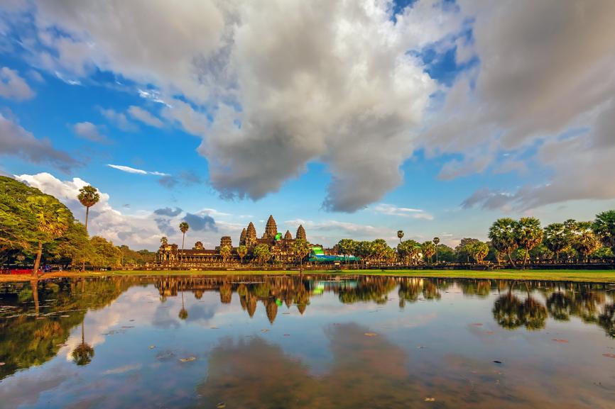 Камбоджа XU7AFA Туристические достопримечательности
