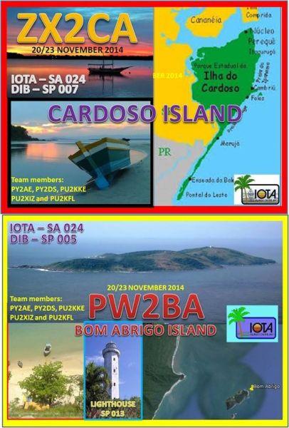 Остров Кардозу ZX2CA