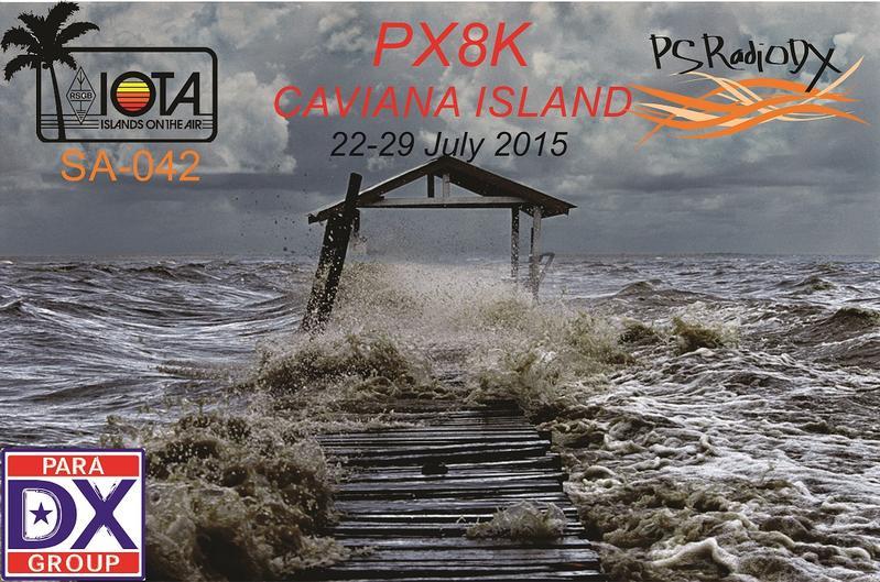 Остров Кавиана PX8K QSL
