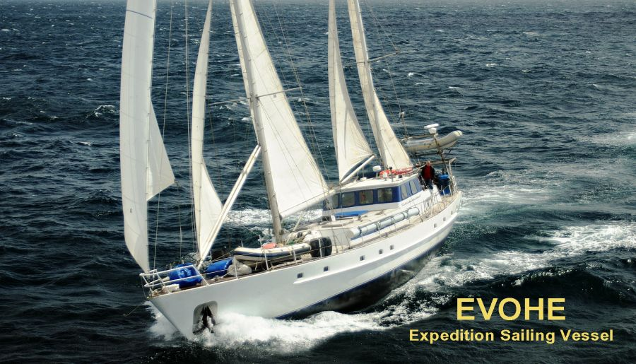 Chesterfield Islands TX3X EVOHE Expedition Sailing Vessel