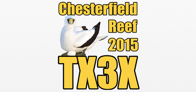 Острова Честерфилда TX3X