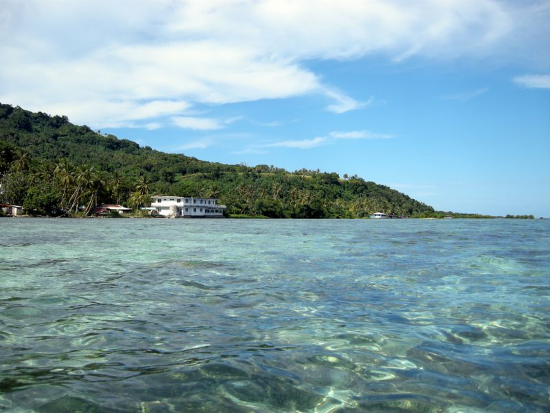 Chuuk Islands V63AN Tourist attractions spot Weno Island.