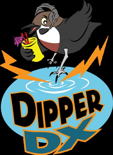 Cocos Keeling Islands VK9CK Dipper DX Logo