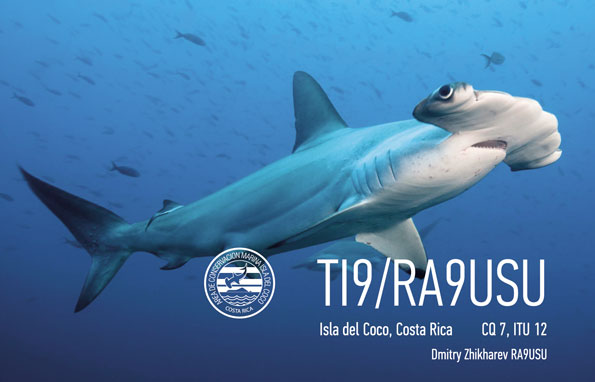 Cocos Island TI9/RA9USU QSL