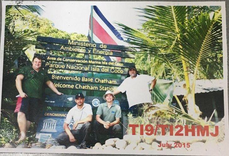 Cocos Island TI9/TI2HMJ QSL