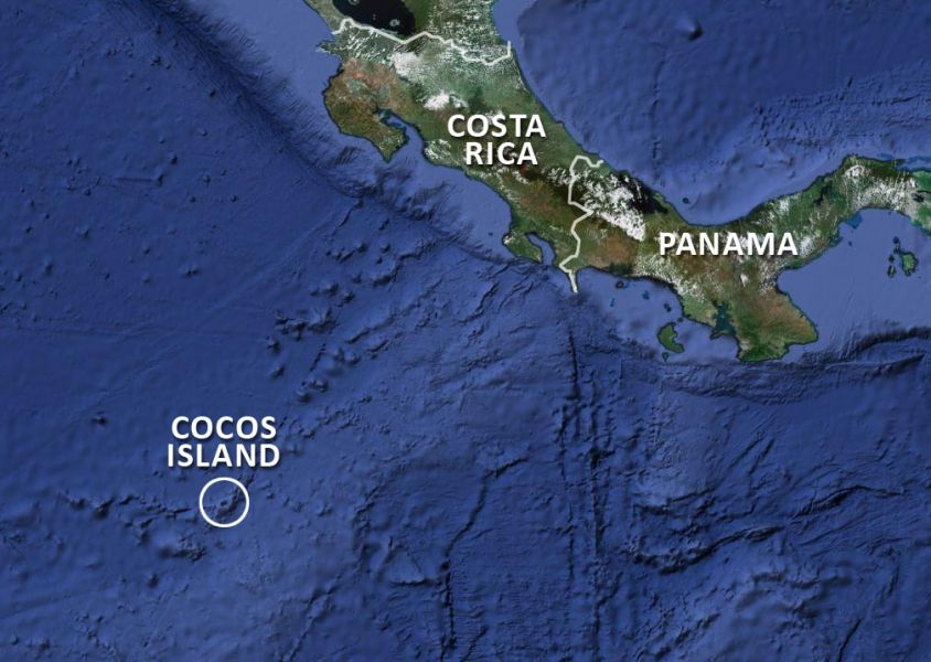 Cocos Island TI9/3Z9DX Map Where Cocos Island located