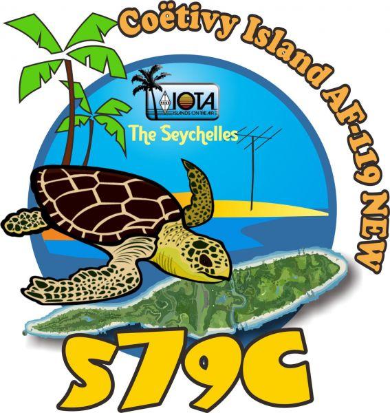 Остров Коэтиви S79C Логотип экспедиции
