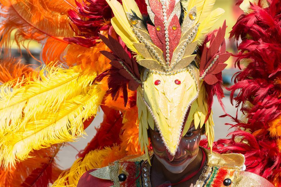 Colombia 5K3W Tourist attractions spot Carnival, Barranquilla.