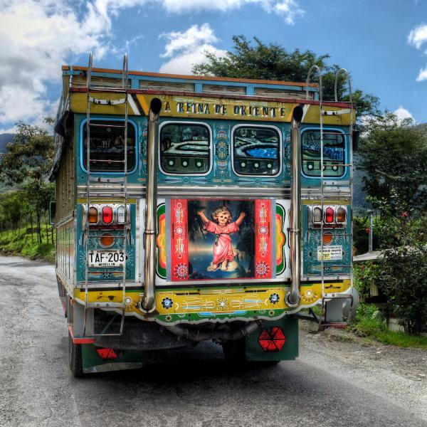 Колумбия 5K3W Кокорна, Антиокуиа.