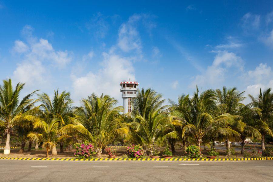 Остров Коншон Пуло Кондор Архипелаг Кондао 3W2BR Аэропорт.