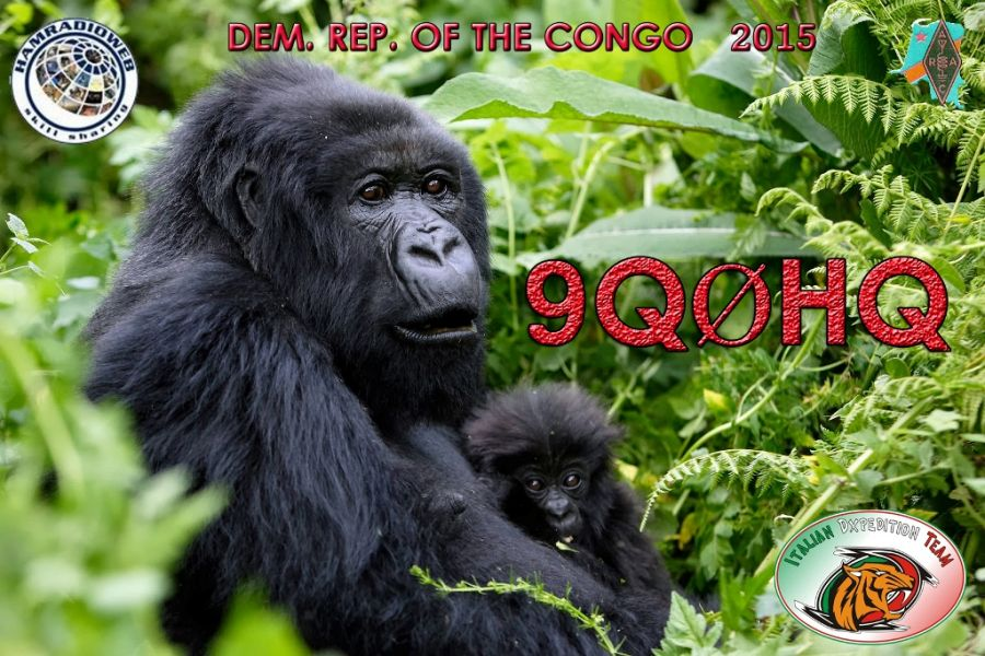 Democratic Republic of Congo 9Q0HQ QSL