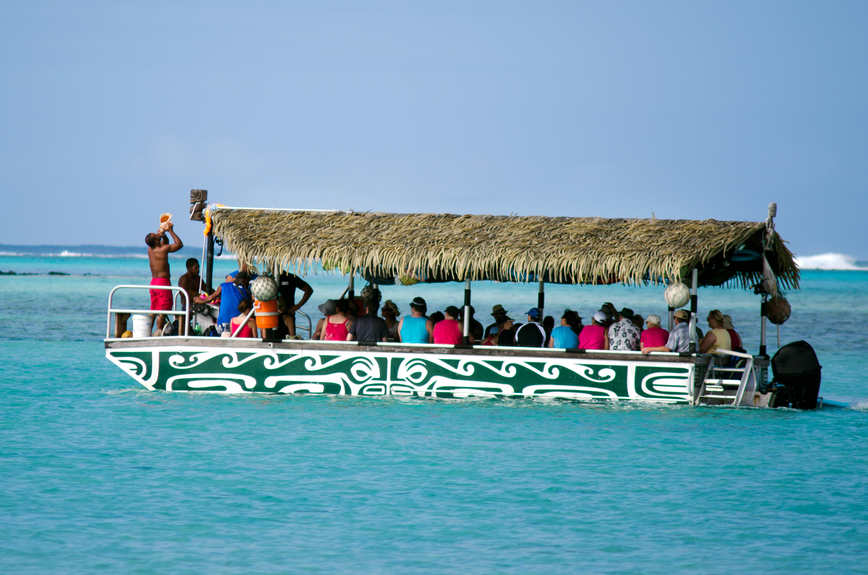 Cook Islands E51ANQ Tourist attractions