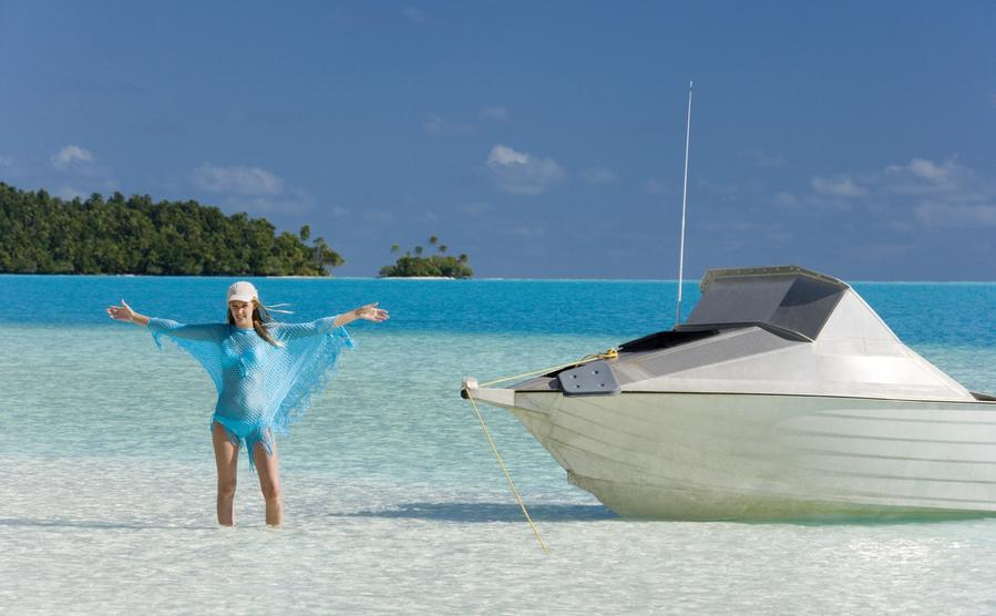 Cook Islands E51XGI Tourist attractions