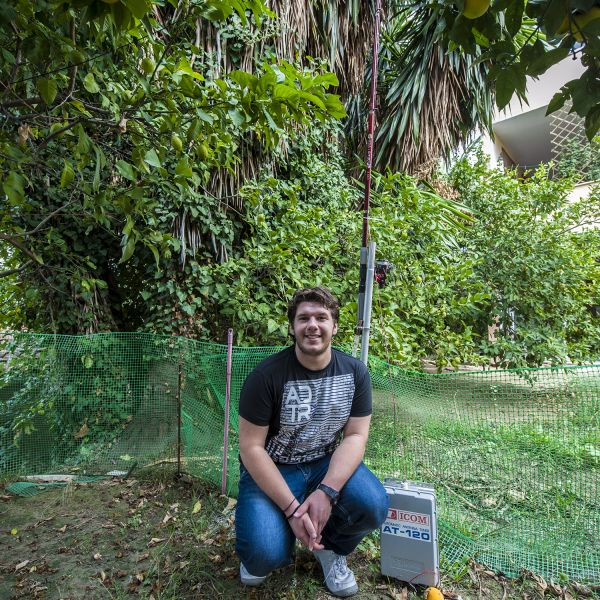Corfu Island SV8PEQ Garden Icom Antenna tuner