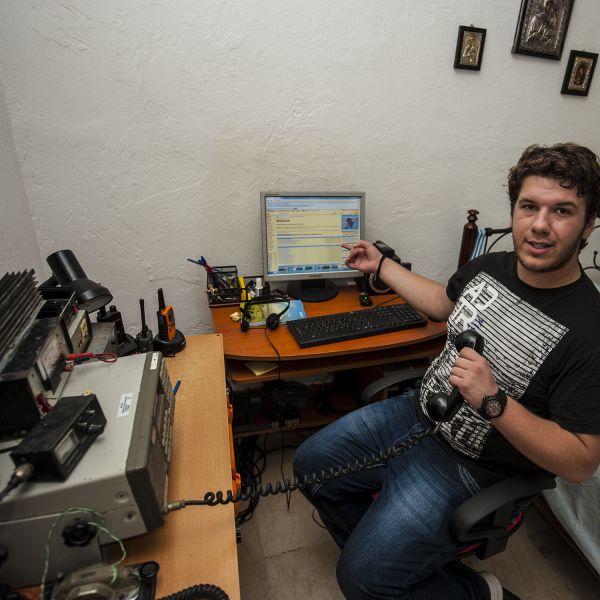 Corfu Island SV8PEQ Radio