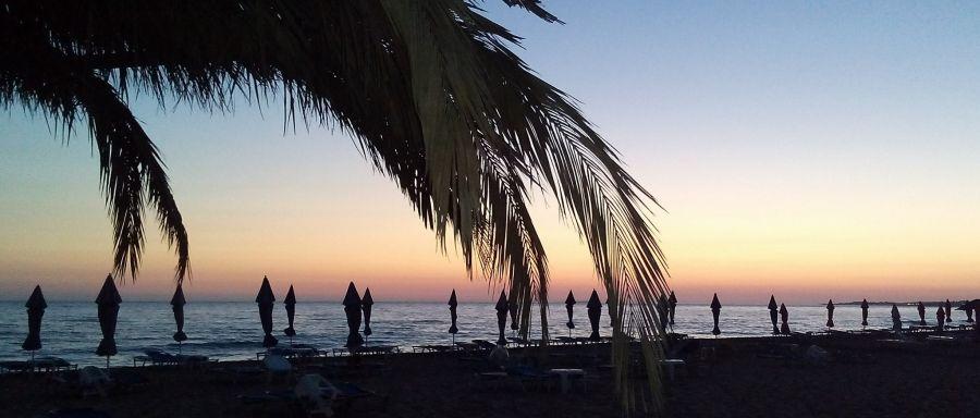 Остров Корфу SW8YA DX Новости Пляж Санта Барбара.