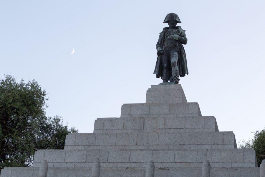 Corsica TK2A Tourist attractions spot Napoleon Bonaparte Monument.