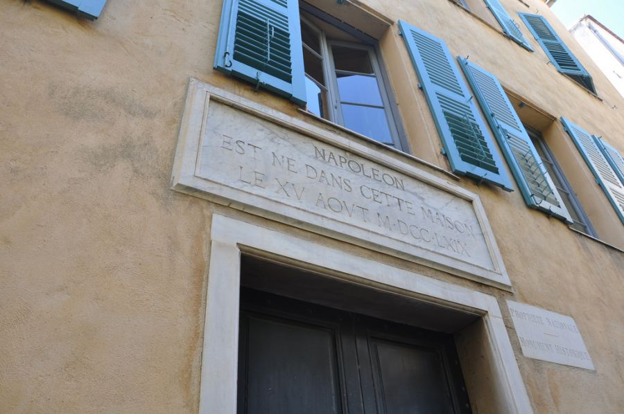 Corsica TK9C Tourist attractions spot Napoleon house.