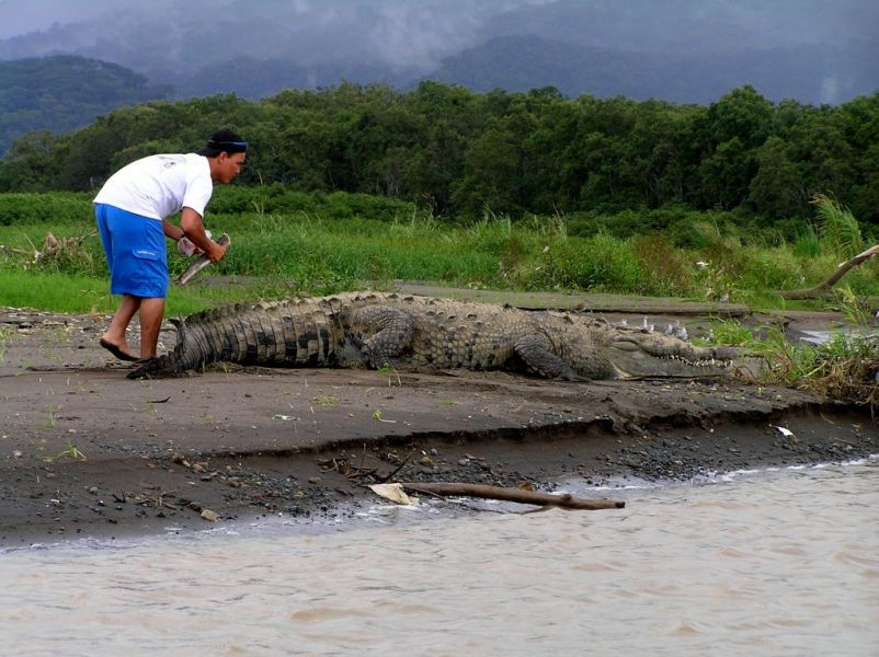 Costa Rica TI5/KL9A Tourist attractions spot