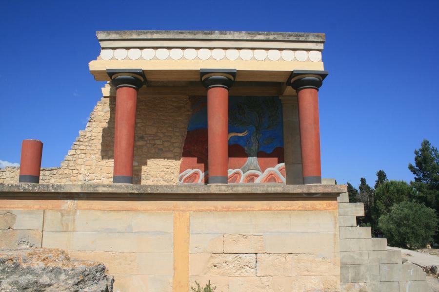 Crete Island SV9/F5MUX DX News Minoan Palace, Knossos.