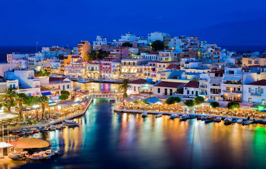 Crete Island SV9/OK6DJ DX News Agios Nikolaos is a picturesque town.